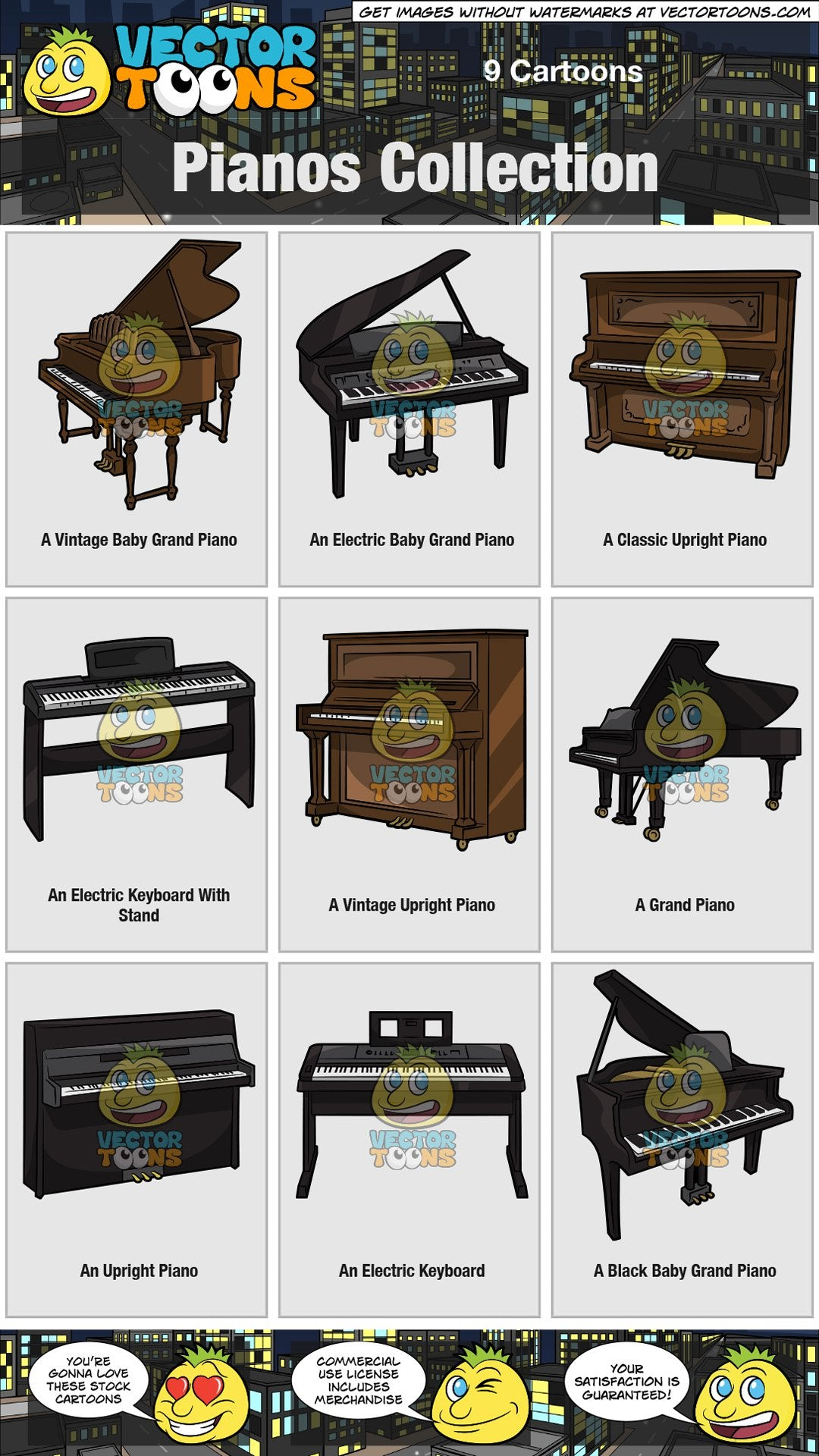 Pianos Collection