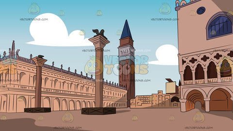 Piazza San Marco Background