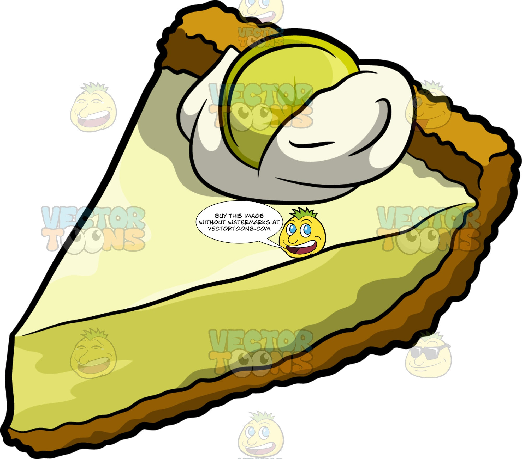 A Slice Of Key Lime Pie