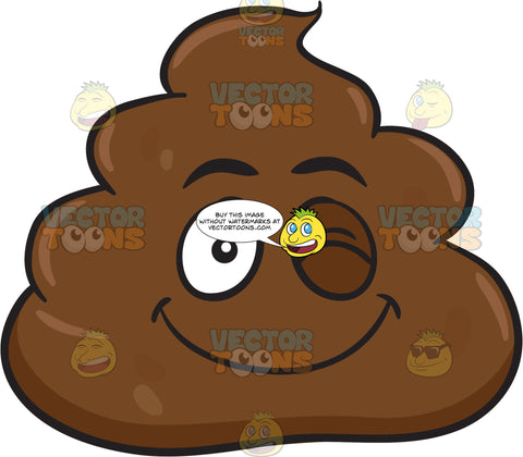 A Winking Pile Of Poo
