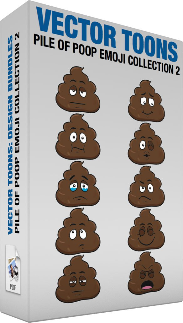 Pile Of Poop Emoji Collection 2