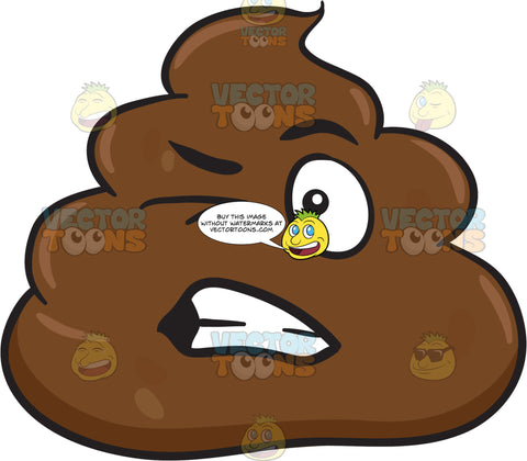 A Cringing Pile Of Poo