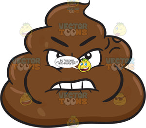 A Furious And Hurt Pile Of Poo