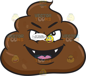 A Mischievous Pile Of Poo