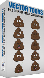 Pile Of Poop Emoji Collection 3