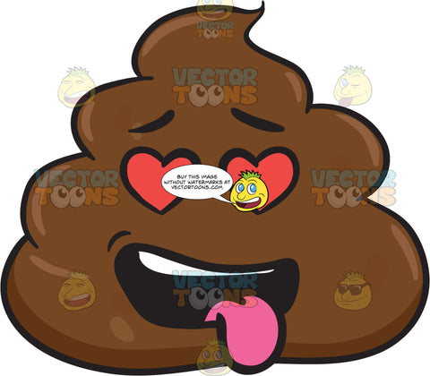 A Pile Of Poo Looking Hopelessly In Love