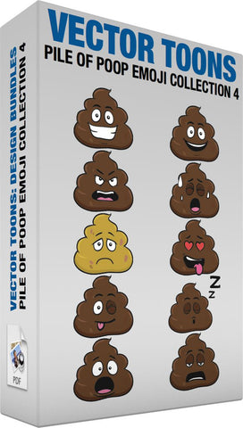 Pile Of Poop Emoji Collection 4