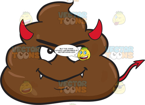 A Devilish Pile Of Poo