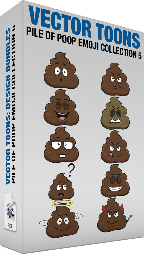 Pile Of Poop Emoji Collection 5