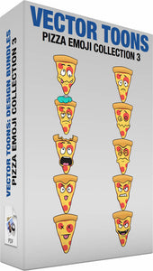 Pizza Emoji Collection 3