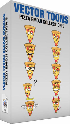 Pizza Emoji Collection 5