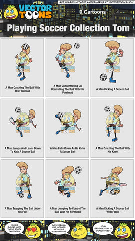 Playing Soccer Collection Tom