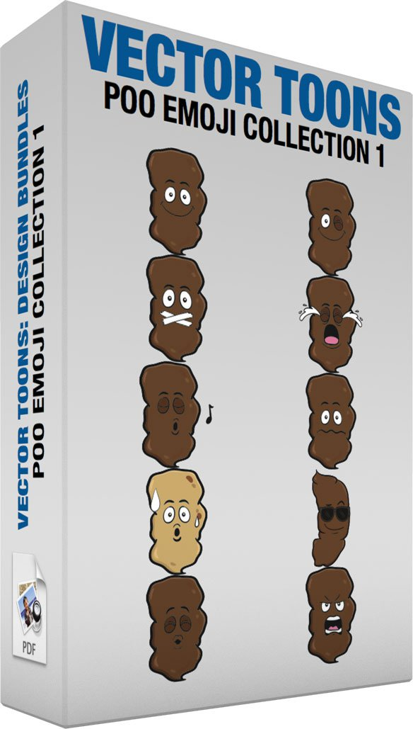 Poo Emoji Collection 1