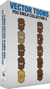 Poo Emoji Collection 2