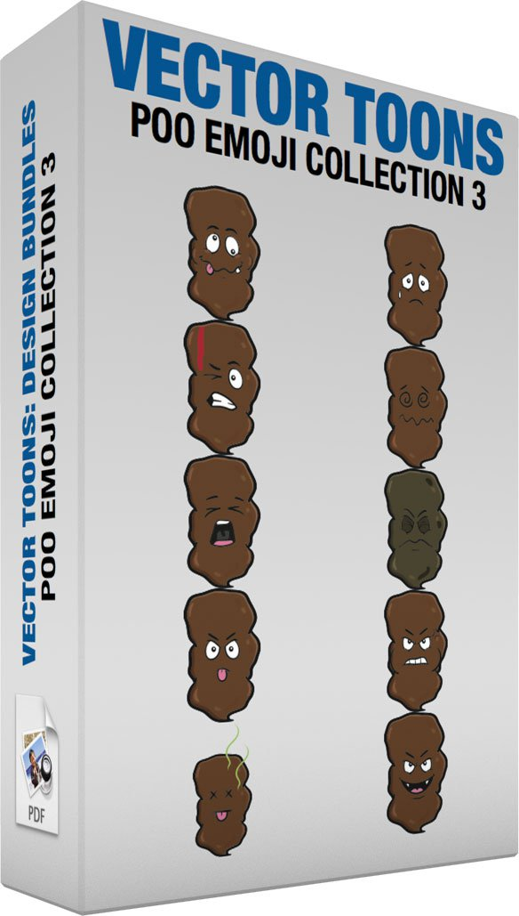 Poo Emoji Collection 3