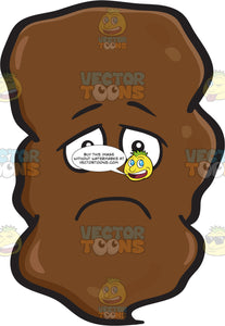 A Depressed Large Chunk Of Poo