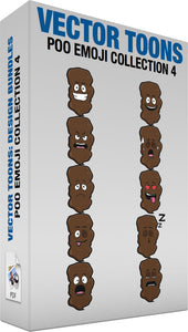 Poo Emoji Collection 4