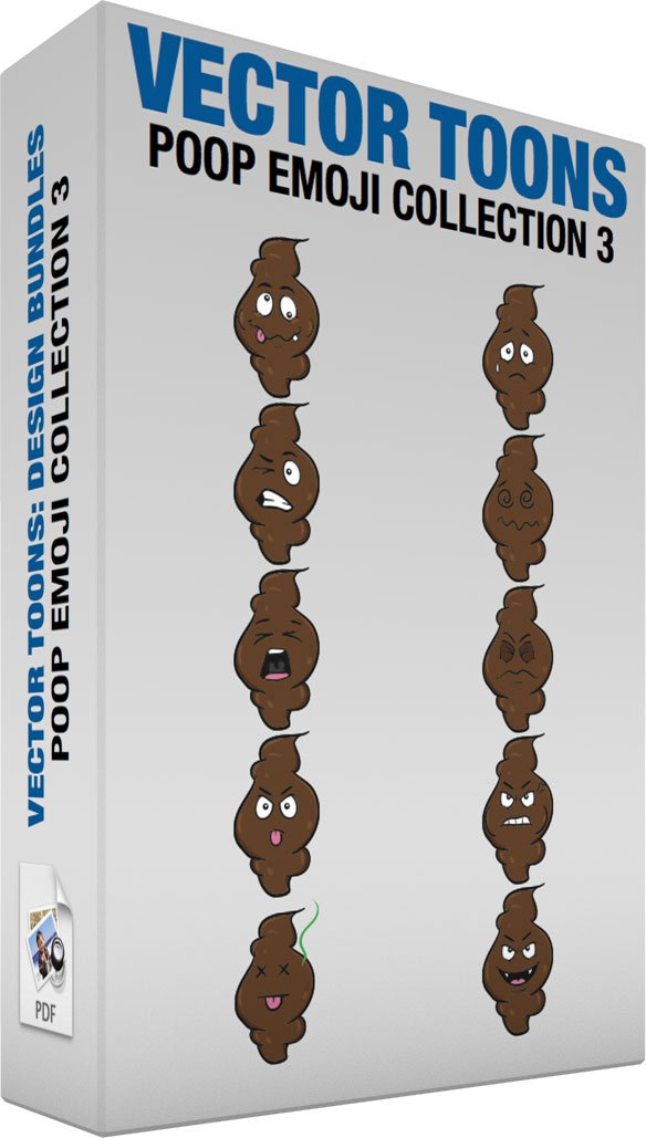 Poop Emoji Collection 3