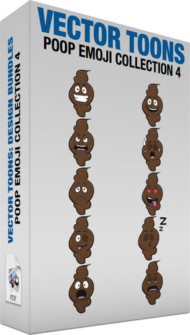 Poop Emoji Collection 4