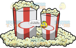Two Movie Popcorns
