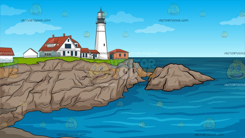 Portland Lighthouse Background