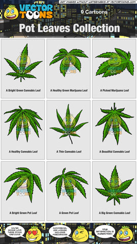 Pot Leaves Collection