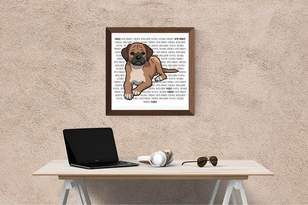 Puggle Dog Printing / Embroidery Designs