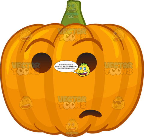 A Wondering Halloween Pumpkin