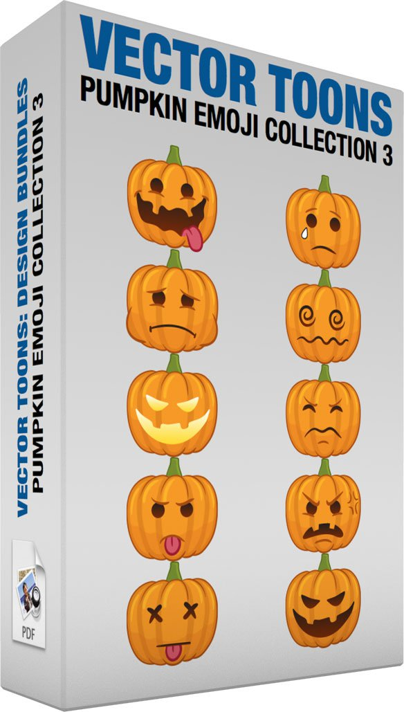 Pumpkin Emoji Collection 3