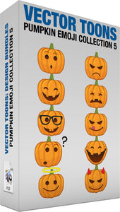 Pumpkin Emoji Collection 5
