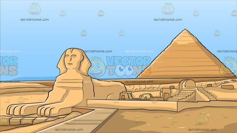 Pyramids Of Giza Background