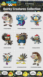 Quirky Creatures Collection