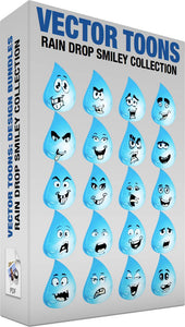 Rain Drop Smiley Collection