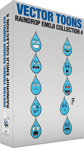 Raindrop Emoji Collection 4