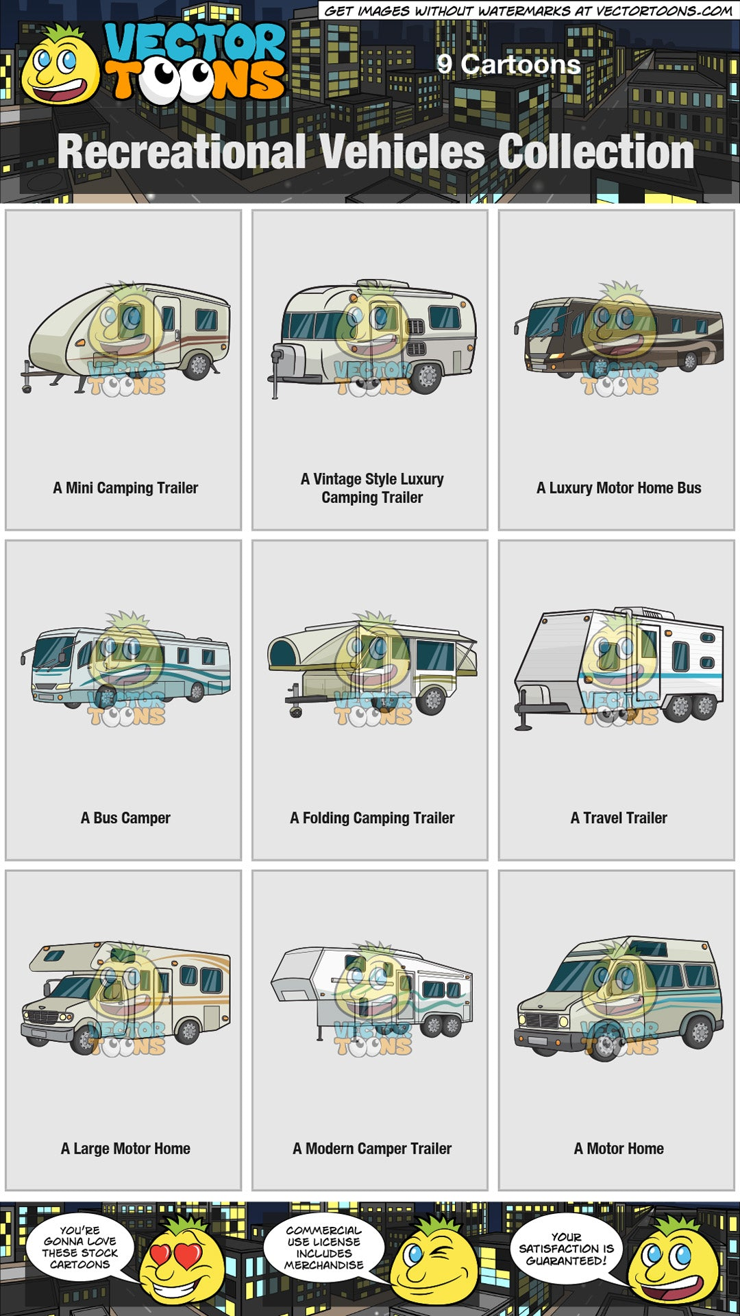 Recreational Vehicles Collection