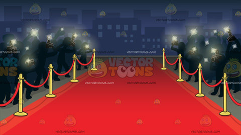 Red Carpet Premiere Background