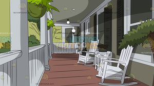Relaxing Front Porch Background