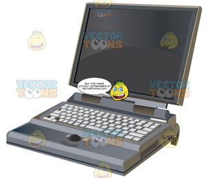 Laptop With Ball Mouse