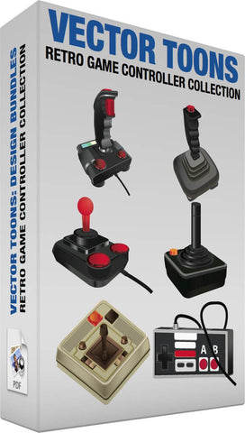 Retro Game Controller Collection