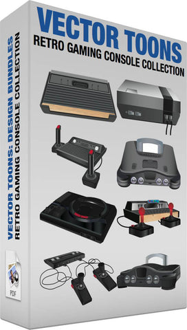 Retro Gaming Console Collection
