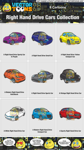 Right Hand Drive Cars Collection