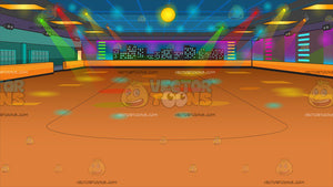 Roller Skating Rink Background