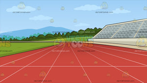 Running Track Background
