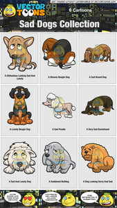 Sad Dogs Collection