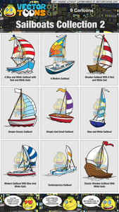 Sailboats Collection 2