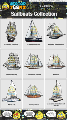 Sailboats Collection