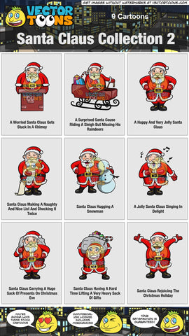 Santa Claus Collection 2
