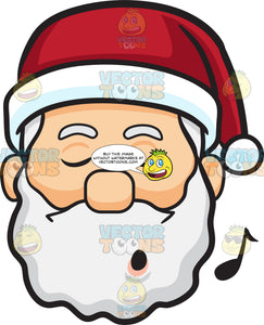 A Whistling Santa Claus
