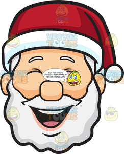 A Laughing Face Of Santa Claus