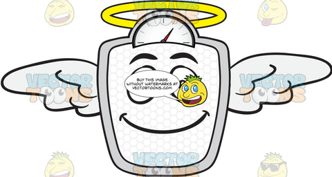 Angelic Weighing Scale Emoji